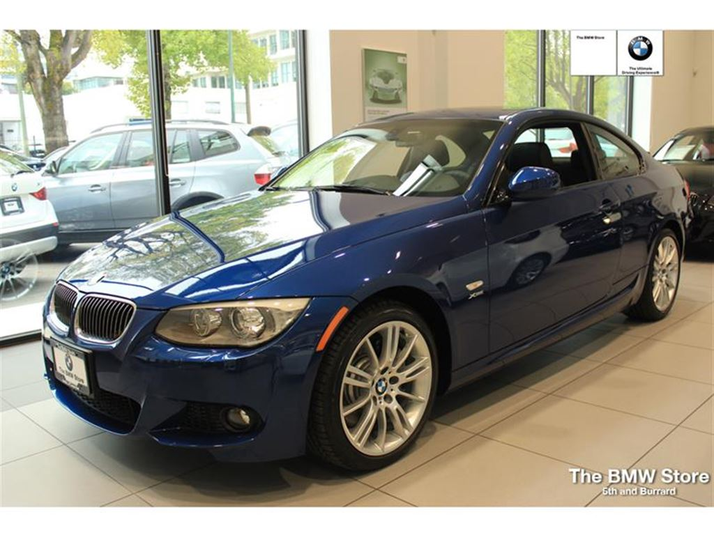 Pre Owned 2013 Bmw 335i Xdrive Coupe M Sport Package In Vancouver Bc Preowned Bmw Vancouver