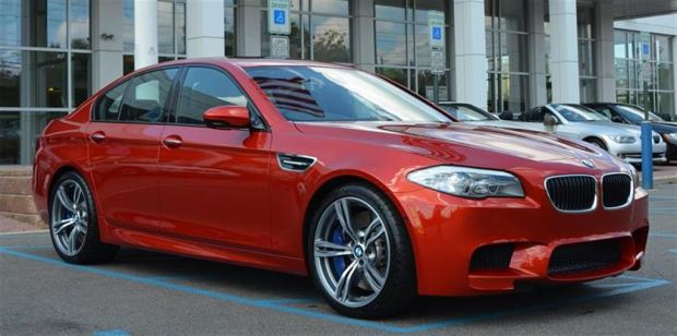 Pre- owned 2013 BMW M5 for sale in Vancouver BC
